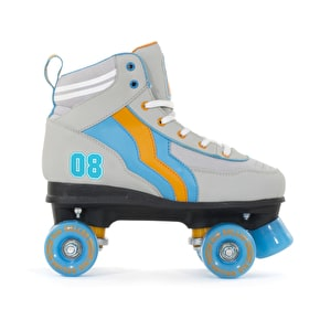 Rio Roller Varsity LE Quad Roller Skates - Grey/Orange/Blue
