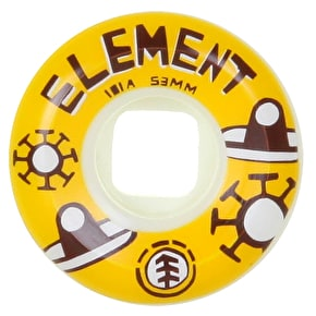 Element Los Amigos Skateboard Wheels - Wides 53mm