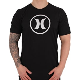 Hurley Dri-Fit Circle Icon T shirt - Light Carbon
