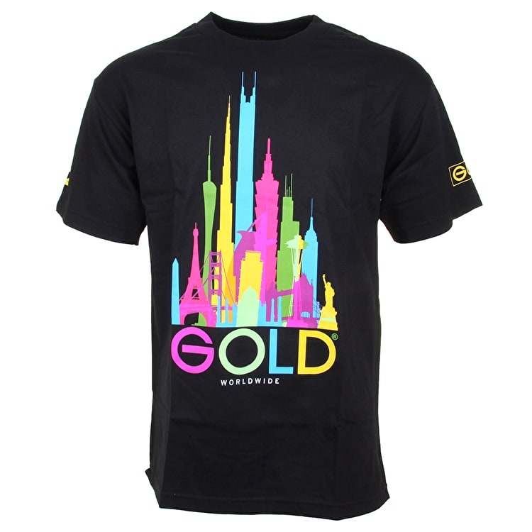 Gold Kingdom T-Shirt - Black