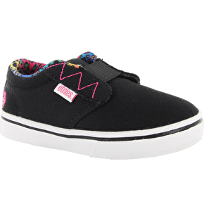 Etnies Jameson 2 Toddler Shoes - Black