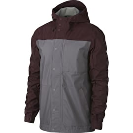Nike SB Shield Jacket - Burgundy Crush/Gunsmoke