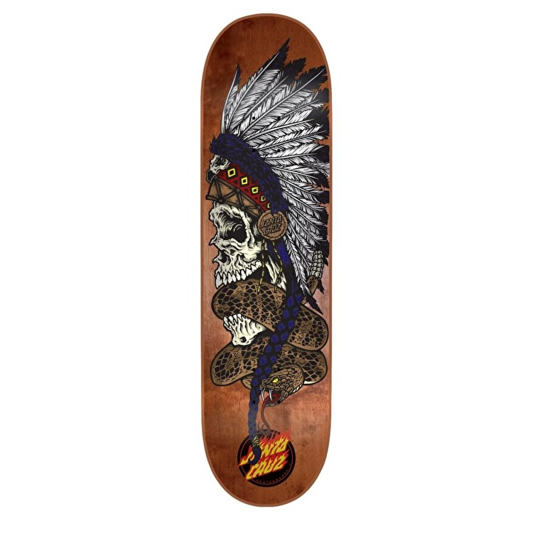 Santa Cruz Skateboard Deck - Headdress 8.35""