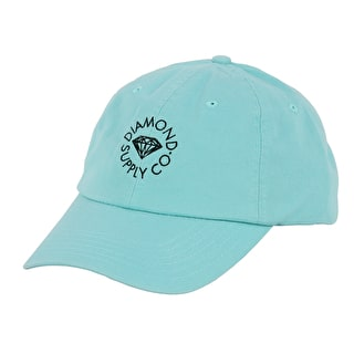 Diamond Circle Logo Sports Cap - Diamond Blue