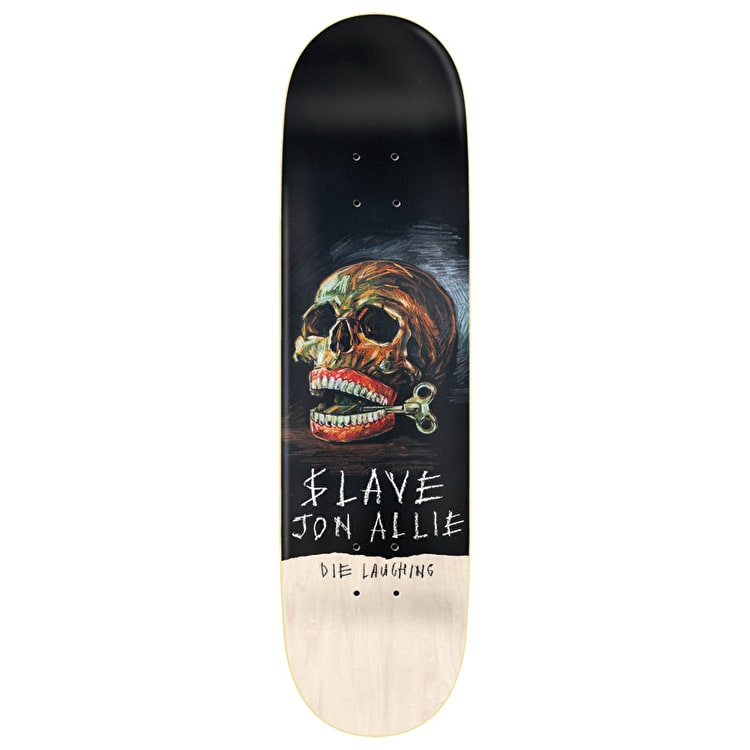 Slave Still Life Skateboard Deck - Allie 8.25""