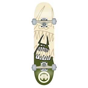 Cartel Monster Kids Complete Skateboard - Army 7.5
