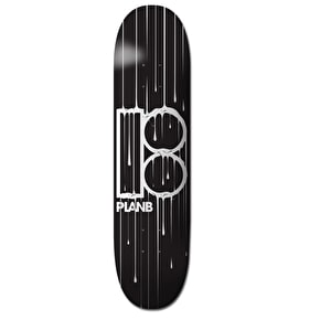 Plan B Skateboard Deck - Team Ooze 8.25