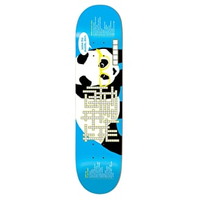 Enjoi Skateboard Deck - Crossword R7 Blue 8.25