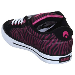 Osiris Barron - Black/Pink/Zebra