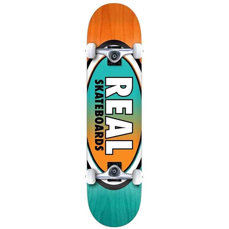 Real Oval Two Fades Complete Skateboard - 7.5""