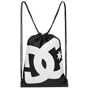 DC Simpski Cinch Drawstring Bag - Black