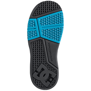 DC Stag Kids Shoes - (Ken Block) Grey/Grey/Black