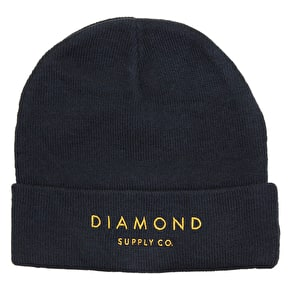Diamond Beanie - Navy