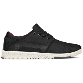 Etnies Scout Shoes - Black/White/Grey