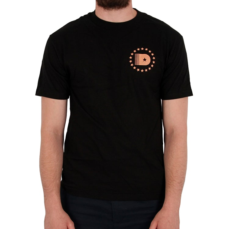 DGK D-Star T-Shirt - Black
