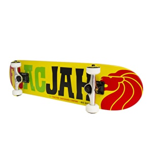 Fracture FracJah Skateboard - Yellow 7.5