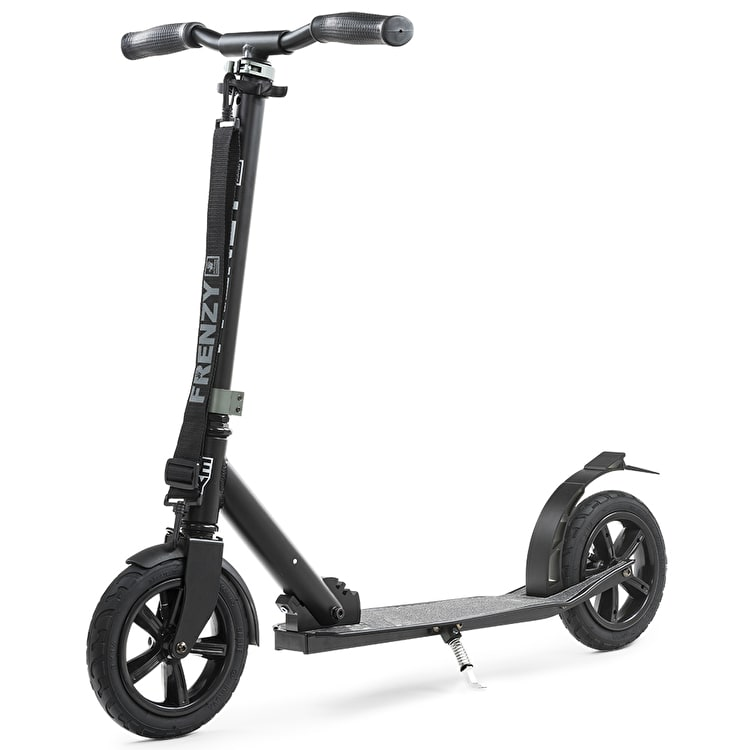 B-Stock Frenzy 205mm Pneumatic Complete Scooter - Black (Box Damage)