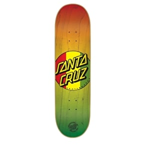Santa Cruz Rasta Dot Skateboard Deck - 8