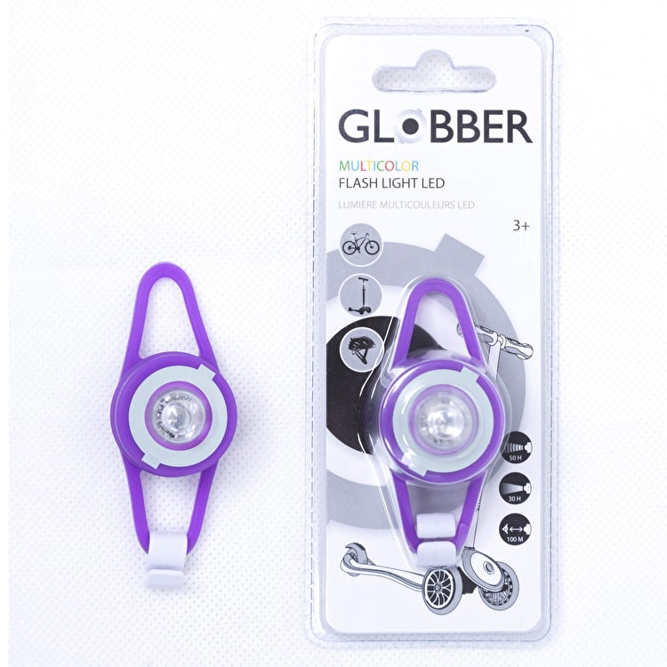 Globber Flash Light LED - Purple