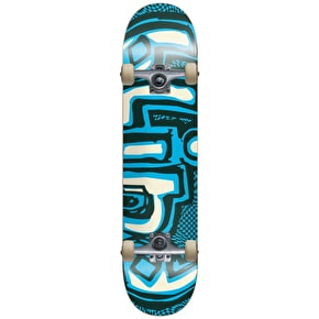 Blind Warped Kids Complete Skateboard - Green/Blue 7.25