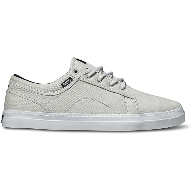 DVS Aversa Shoes - White/Black Canvas