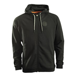 Santa Cruz Zip Hoodie - SCS Opus Badge Black
