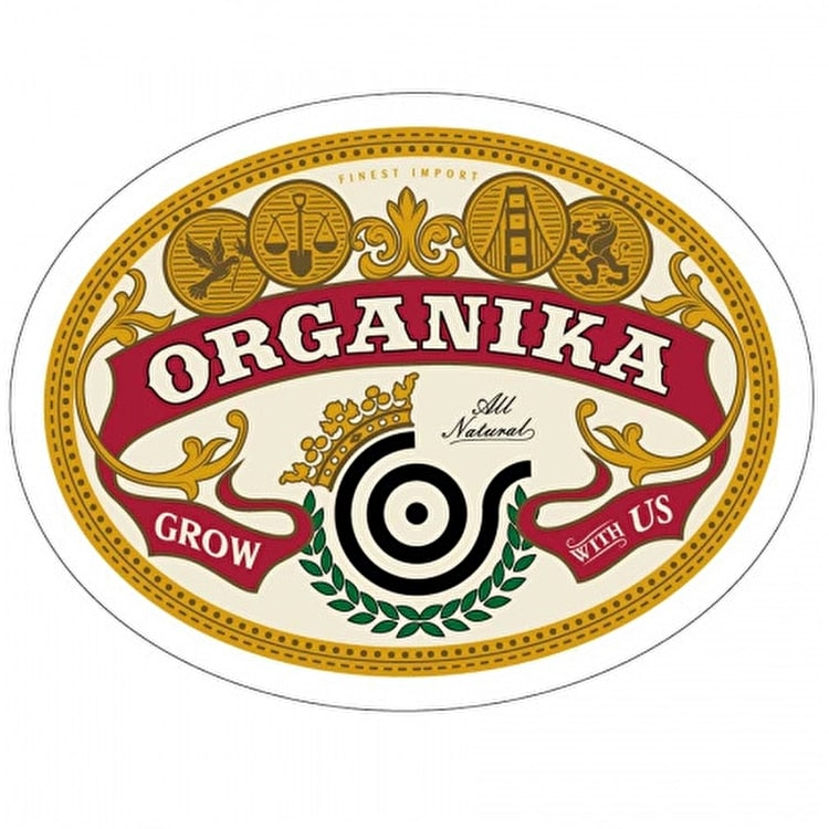 Organika Import Sticker