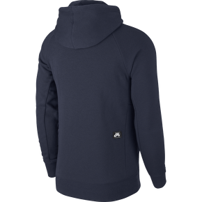 Nike SB Icon Pulllover Hoodie - Obsidian/Neptune Green