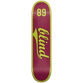 Blind Skateboard Deck - Athletic Skin SS Plum 7.75