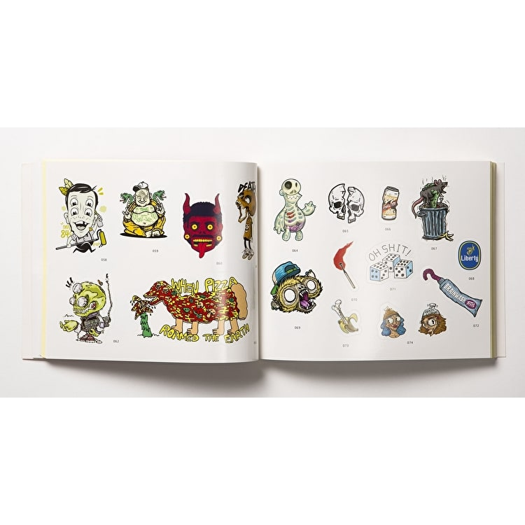 SRK Sticker Book - Stickerbomb 3