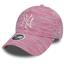 New Era New York Yankees Womens Engineered Fit 9FORTY Cap - Pink/Grey
