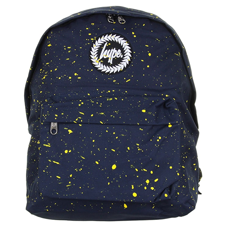 Hype Splat Backpack - Navy/Yellow