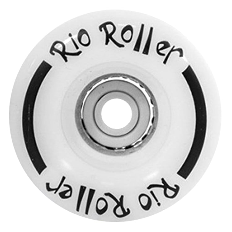 Rio Roller Light Up Quad Roller Skate 54mm Wheels- White