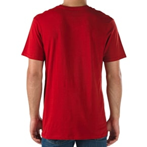 Vans Dalton T-Shirt - Red Dahlia