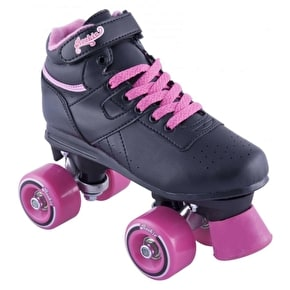 B-Stock Rookie Odyssey Roller Skates Black Pink (Ex-Display)