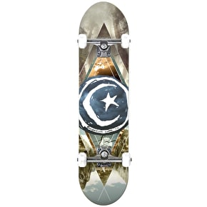 Foundation Star & Moon Complete Skateboard - Geometry 8.125