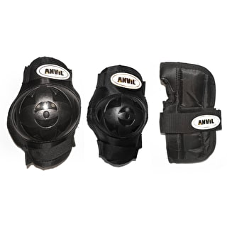 Anvil Basic 3pc Pad Set - Black