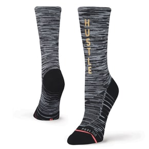 Stance Hustle Harder Socks - Black