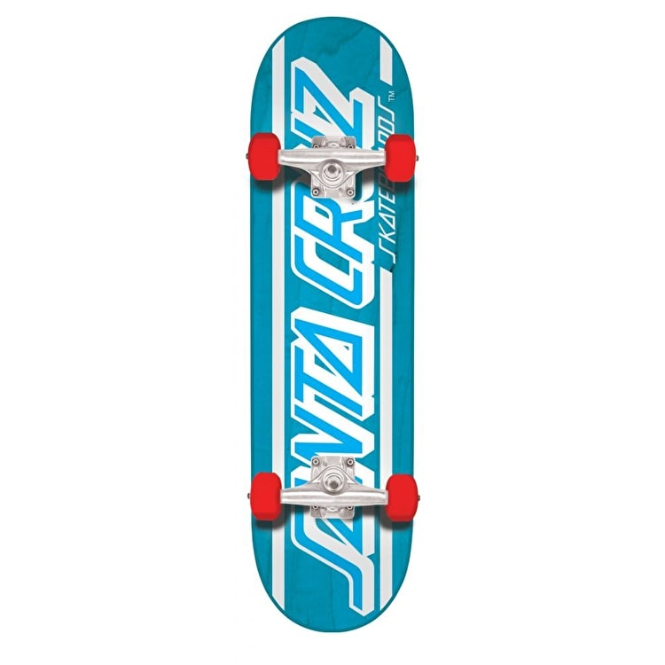Santa Cruz Strip Complete Skateboard - Blue 7.8""