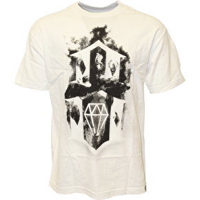 Rebel8 Flaming 8 T-Shirt - White