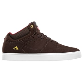 Emerica x Chocolate HSU g6 Shoes - Brown/White