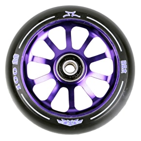 AO Delta 2017 10 Hole 100mm Scooter Wheel - Purple