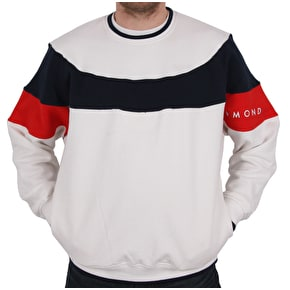 Diamond Supply Co Fordham Crewneck - White