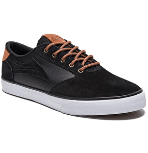 Lakai Pico Skate Shoes - Black Suede