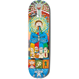 Primitive x Rick And Morty - Collage Skateboard Deck 8
