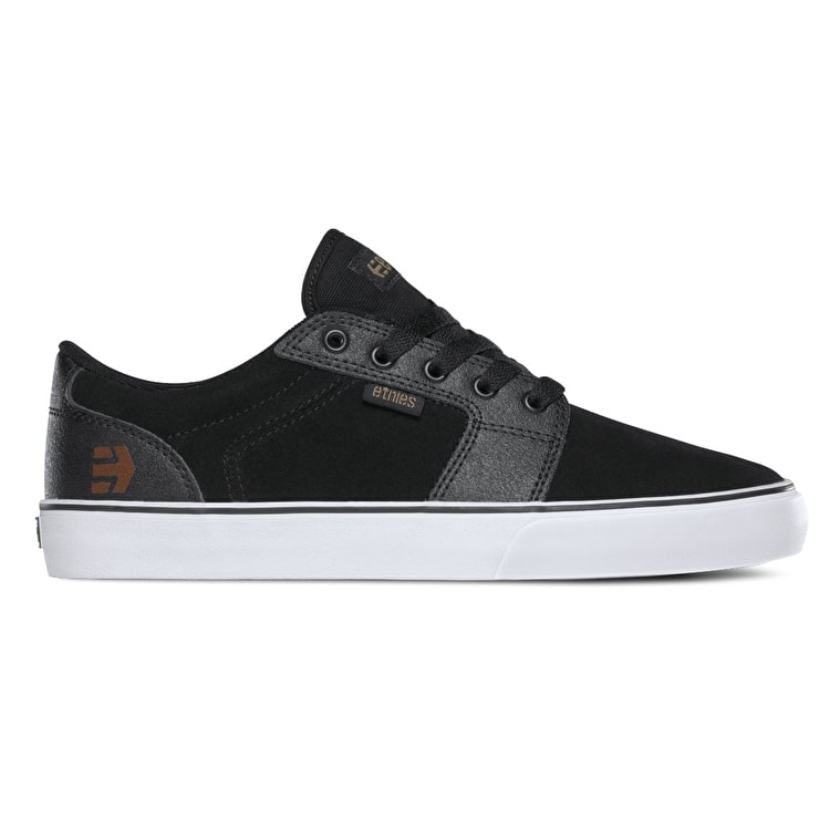 Etnies Barge LS Shoes - Black/Gum/White