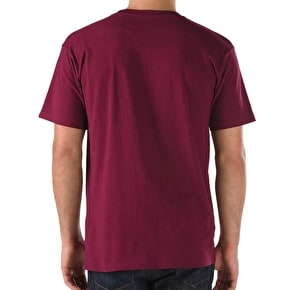 Vans Classic T-Shirt - Burgundy/Dress Blue