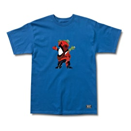 Grizzly x Spiderman T-Shirt - Royal Blue