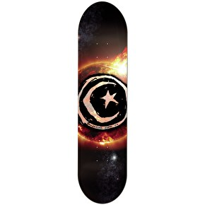Foundation Skateboard Deck - Star and Moon Sun Flare 8.25