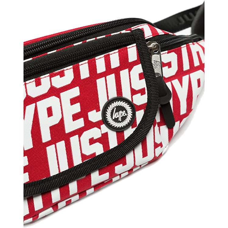 Hype JH Sports Bum Bag - Red/White